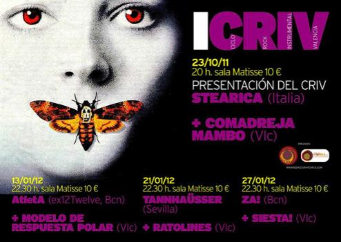 CRIV 2012 - Ciclo de Rock Instrumental Valencia
