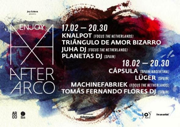 Cartel After Arco Festival