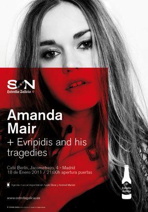 Amanda Mair - Concierto en Madrid