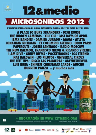 Microsonidos 2012 - Cartel