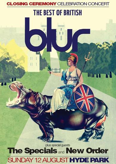 Blur JJOO Londres 2012