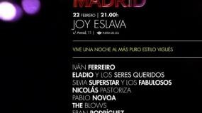 Iván Ferreiro encabeza 'Una Noche de Vigo en Madrid'
