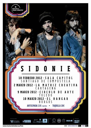 Sidonie - Heineken Music Selector 2012
