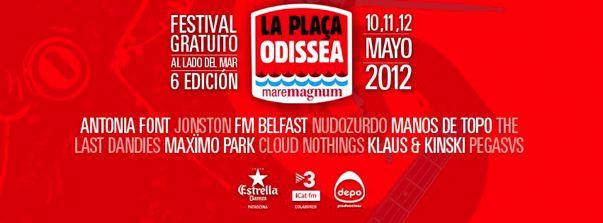 Festival Plaça Odissea 2012 - Cartel