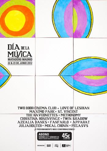 Día de la Música 2012 - Cartel