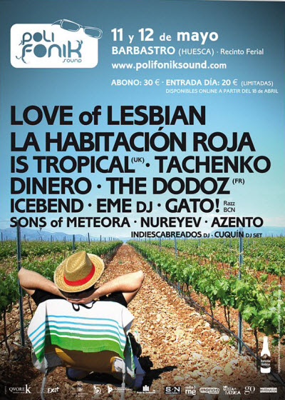 Polifonik Sound 2012 - Cartel