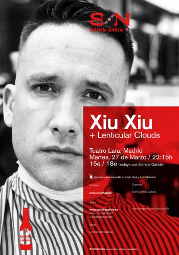 Concierto de Xiu Xiu en el Teatro Lara de Madrid