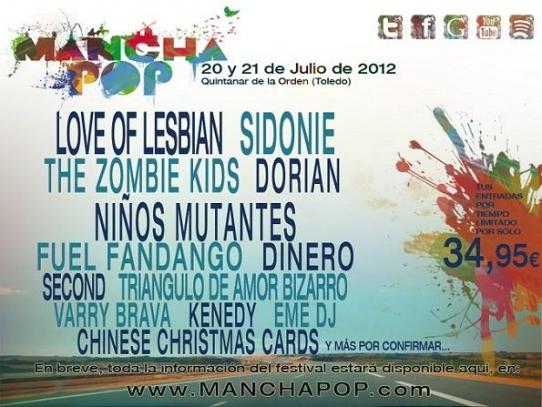 Manchapop 2012 - Cartel