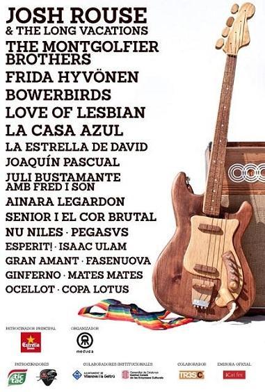 Faraday Festival 2012 - Cartel