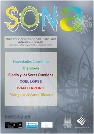 Cartel SONa 2012