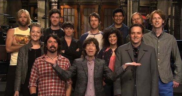 Mick Jagger - Arcade Fire - Foo Fighters
