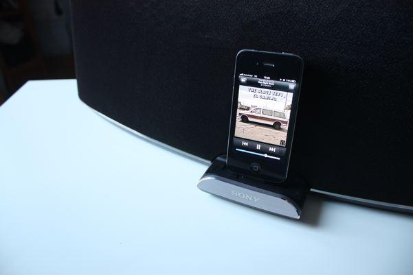 Sony RDP XA900iP - iPod