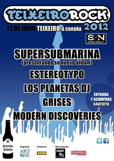 Teixeiro Rock 2012