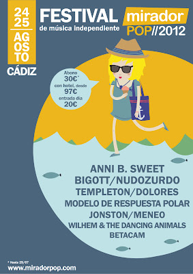 Mirador Pop 2012 - Cartel