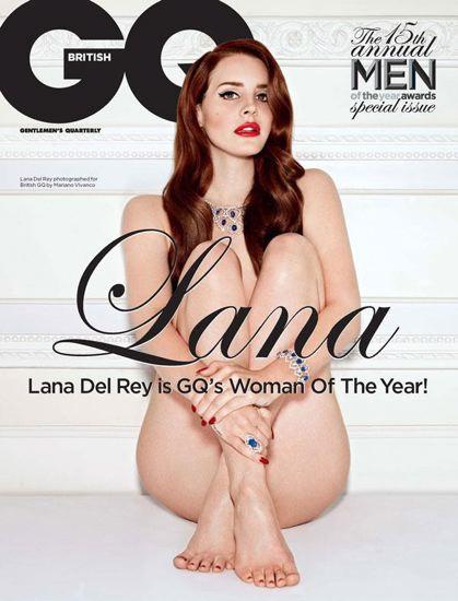 Lana del Rey Desnuda