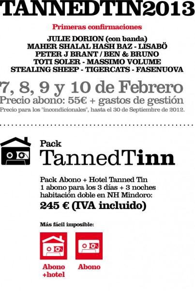 Tanned Tin 2013