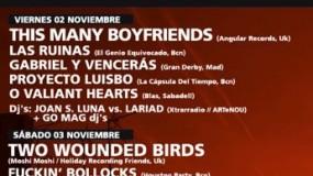 Xtrarradio Musicfest 2012 cierra su cartel