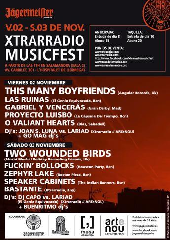 Xtrarradio Musicfest 2012