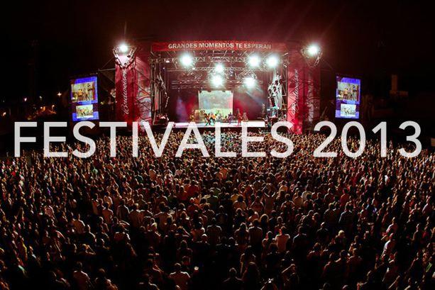 Festivales Música Indie 2013