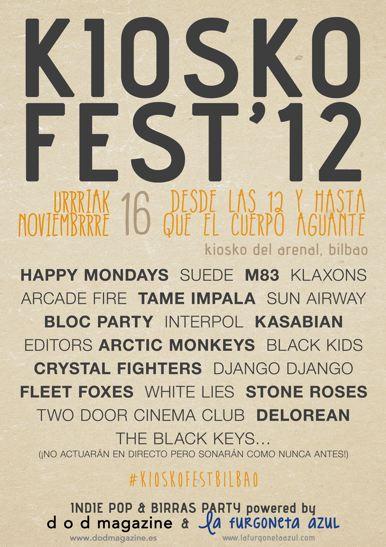 Kiosko Fest 2012