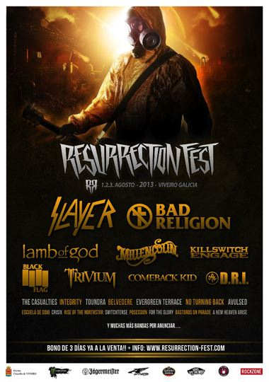 Cartel Resurrection Fest 2013