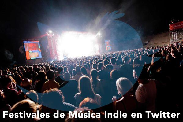 Festivales de Música Indie en Twitter