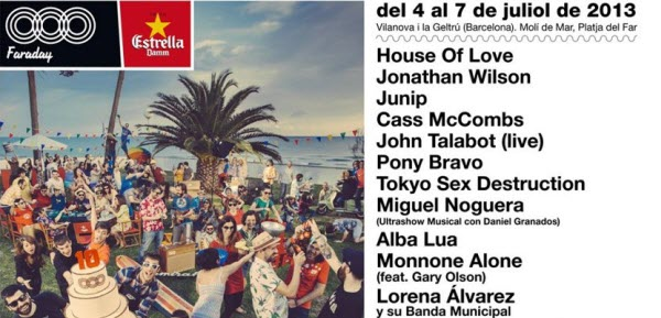 Faraday 2013 - Cartel