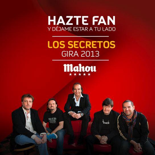 Los Secretos - Gira 2013
