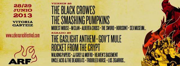 Azkena Rock Festival 2013