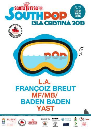 South Pop Isla Cristina 2013