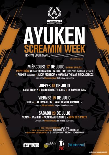Ayuken Screamin Week