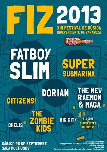 FIZ 2013 - Festival de Música Independiente de Zaragoza