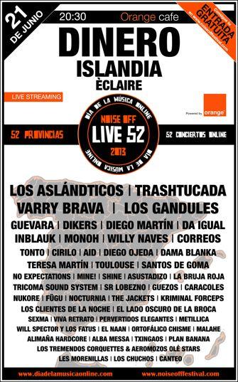Live 52 - Día de la música online