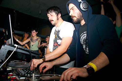 MSTRKRFT DJs