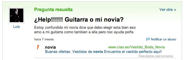cuidar guitarra como novia