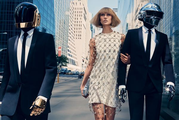 Daft Punk + Karlie Kloss + VOGUE
