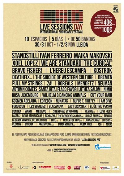 Live Session Days 2013