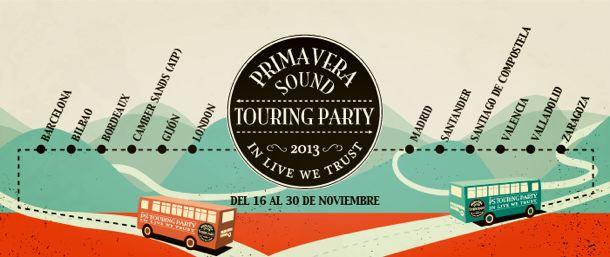 Primavera Sound Touring Party