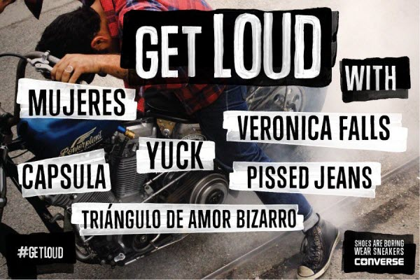 Conciertos Converse Get Aloud - Madrid / Barcelona