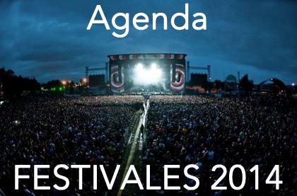 Festivales 2014 - Agenda y Calendario