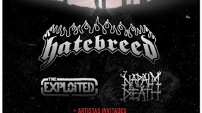 Tour Of Chaos 2014 con Hatebreed, Napalm Death y The Exploted