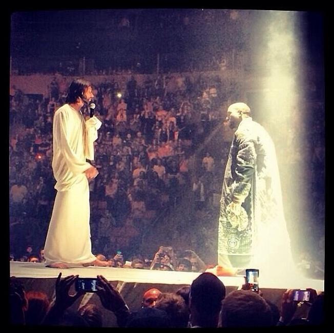 Kanye West - Jesus / Yeezus Tour