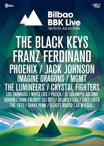 Cartel BBK Live 2014