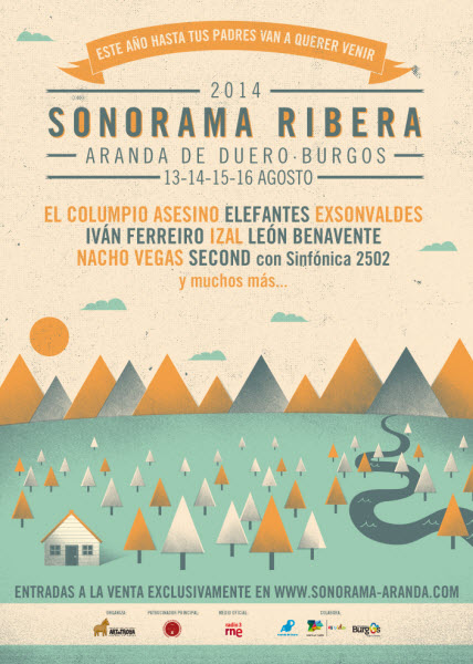 Cartel Sonorama 2014