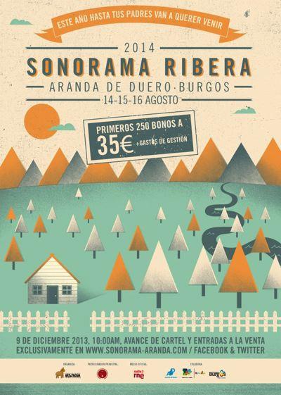 Sonorama 2014 Cartel