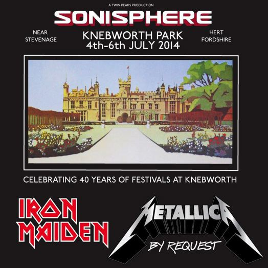 Sonisphere 2014 - UK