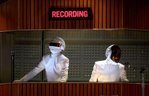 Daft Punk en los Grammy 2014