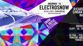 Horarios del ElectroSnow 2014