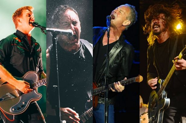 Nine Inch Nails, Queens Of The Stone Age, Dave Grohl, y Lindsey Buckingham