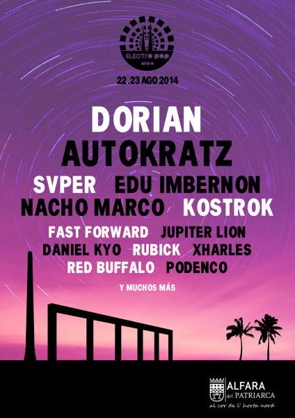 Electro Pop Alfara Festival 2014